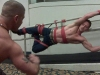 Rigging with Will Parker at IML 2009 (phot by Element)